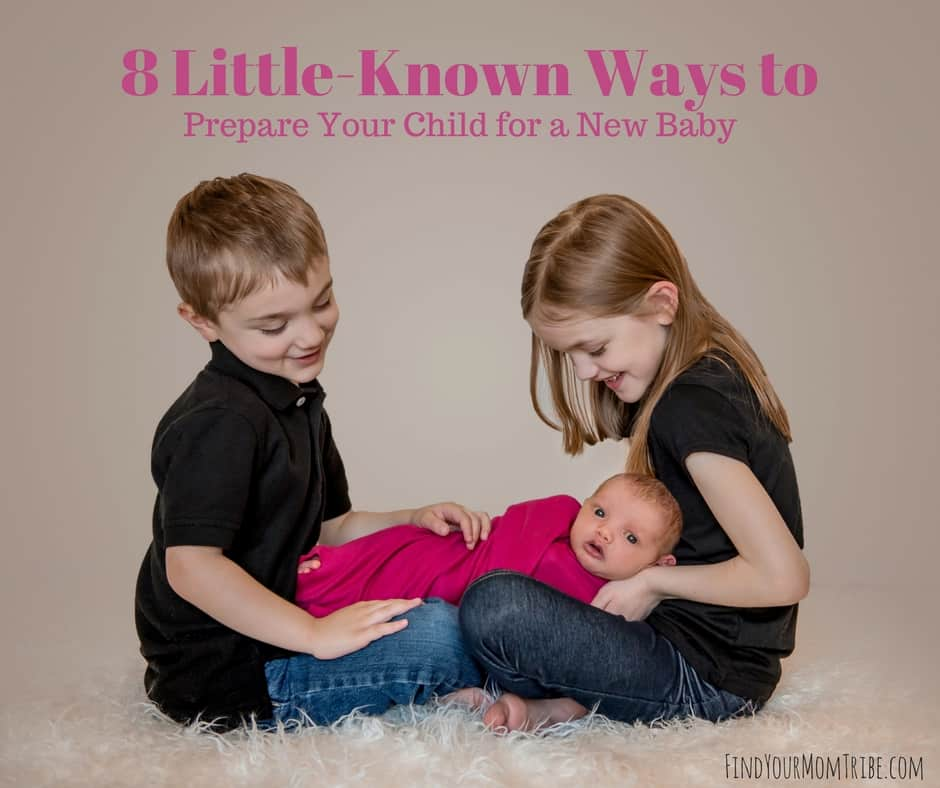 A new baby in the home can be quite the adjustment - especially for siblings. Prepare your child for a new baby using these 8 easy steps...