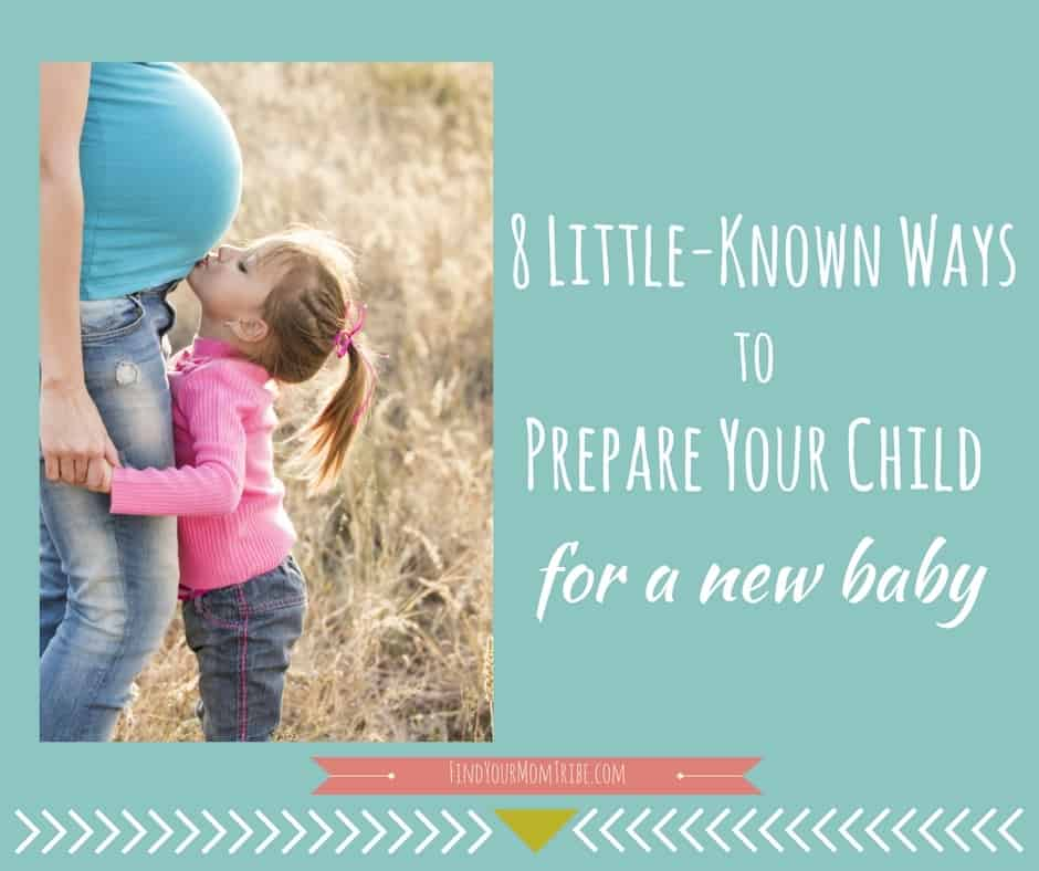 8 Little-Known Ways to Prepare Your Child for a New Baby (Bet ya haven't heard of #3!) - A new baby in the home can be quite the adjustment - especially for siblings. Prepare your child for a new baby using these 8 easy steps...