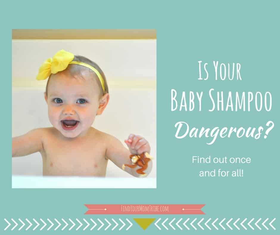 Is your baby shampoo dangerous? Find out if your baby soap is safe (and other options for non-toxic soap).