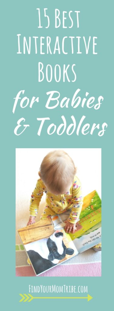 Is your baby bored with books? Too busy for story time? These interactive books will solve that problem! They also make the perfect baby shower or birthday gift!