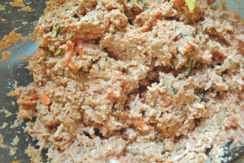 chicken muffin with hidden veggies