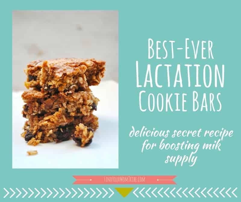 Lactation Cookie Bars