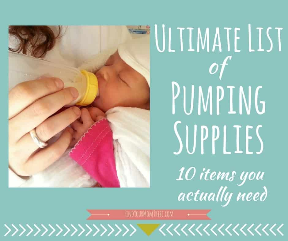 Pumping breast milk for your baby? Here are 10 must-have products.