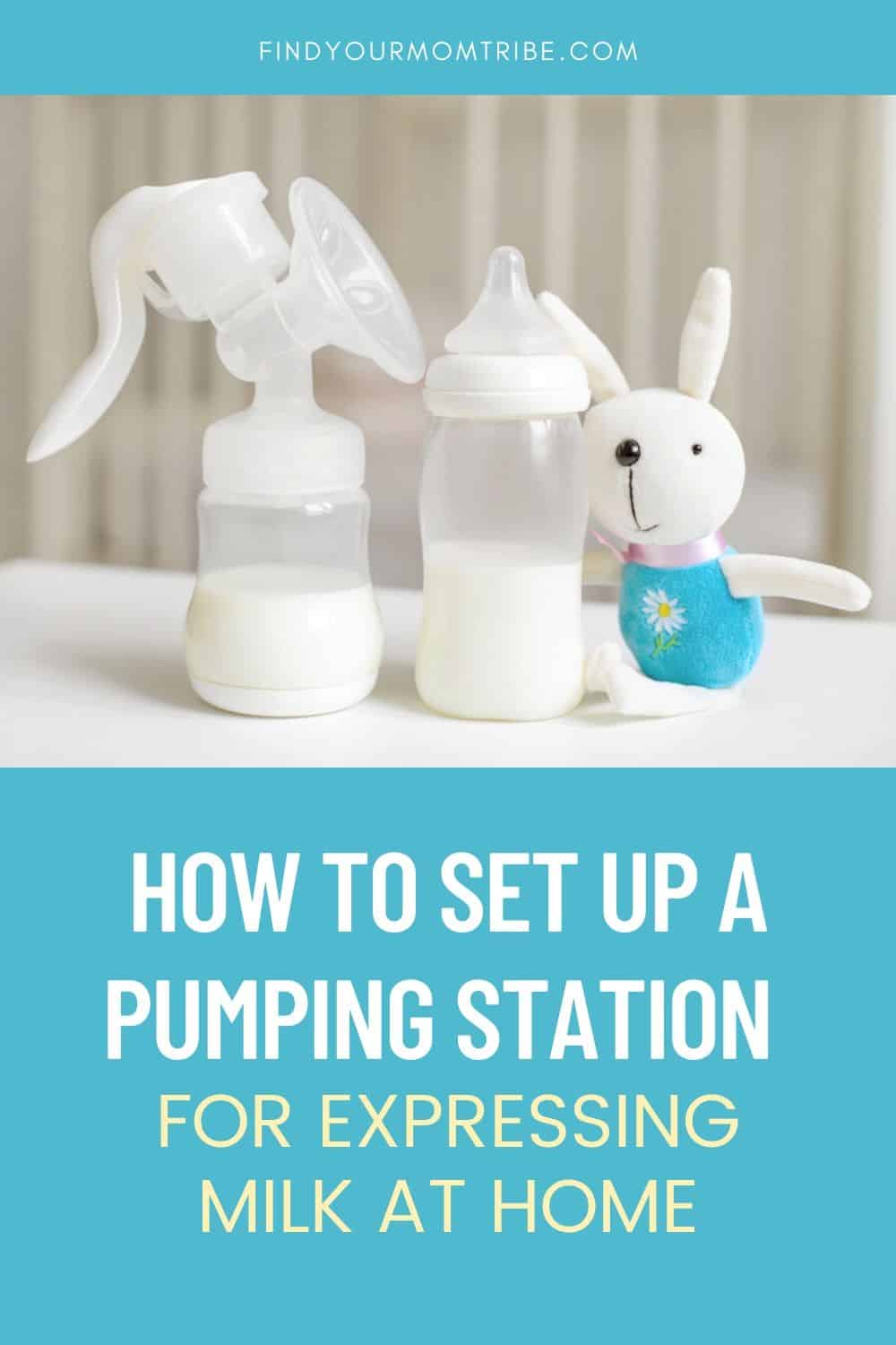 How to Set Up a Pumping Station Pinterest