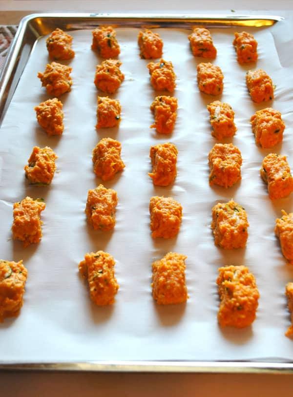 Sweet Potato Tots with Hidden Veggies