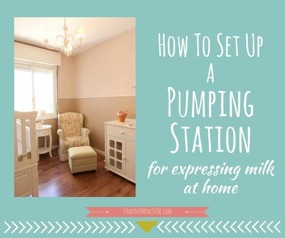 Pumping mom of 4 years shares her top 16 things you need to keep at your pumping station. Organize your pumping supplies once and for all!