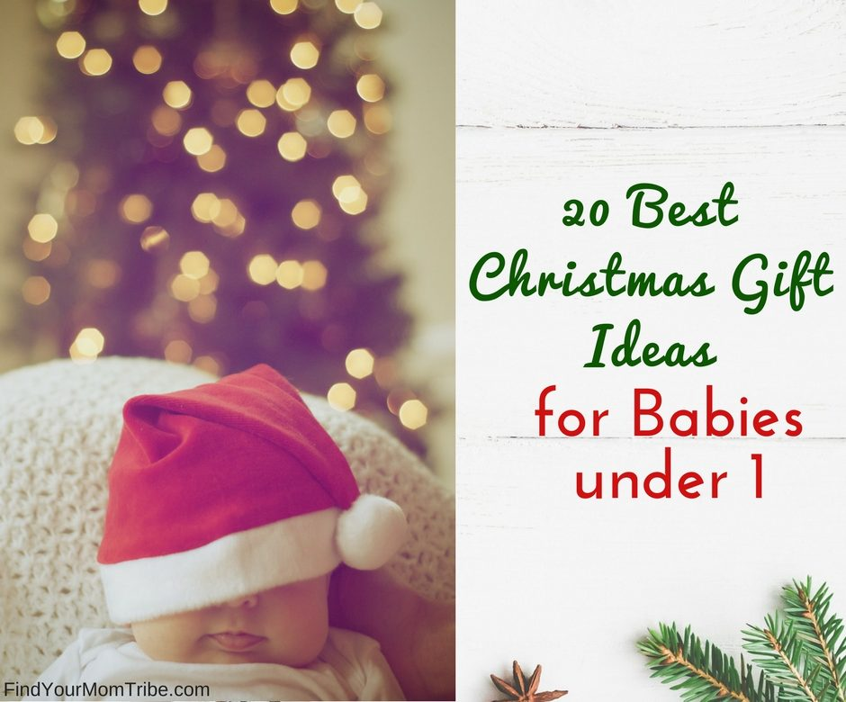 20 Best Christmas Gift Ideas for Babies Under 1 (Gifts under $30!) - Find  Your Mom Tribe - 20 Best Christmas Gift Ideas For Babies Under 1 (Gifts Under $30
