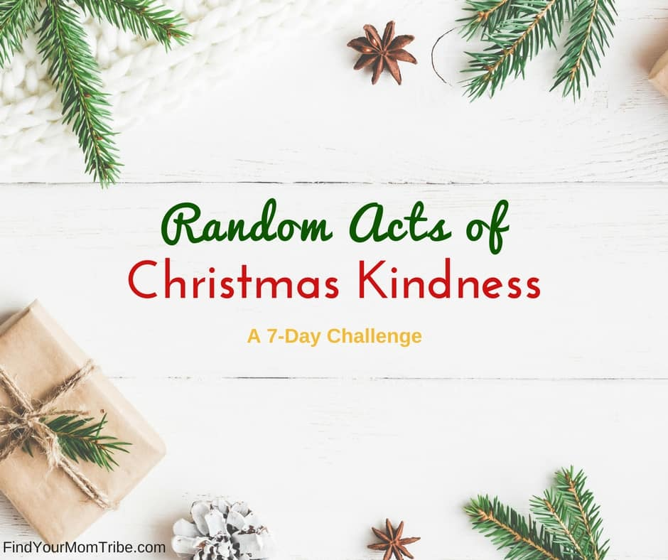 Random Acts of Christmas Kindness Challenge! Get your free printable packet now!