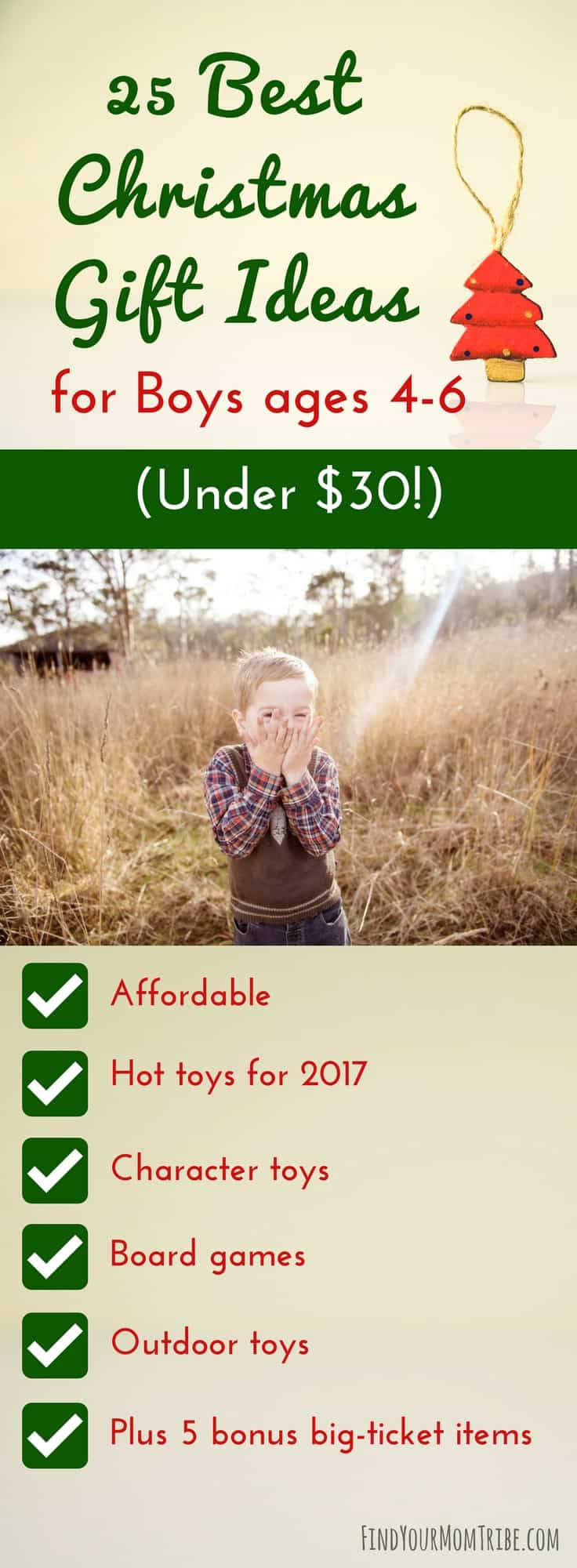 25 Best Christmas Gift Ideas for Boys ages 4-6 (Under $30!) - Find ...