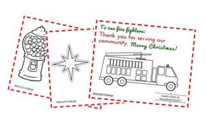 random acts of Christmas kindness printable