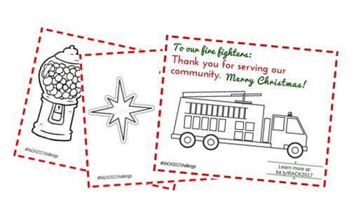 random acts of Christmas kindness printable