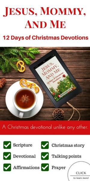 Christmas devotional for kids, advent devotions for kids
