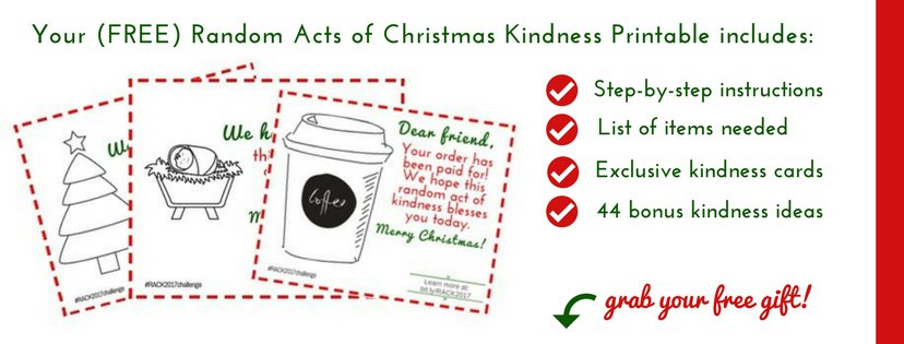 Random acts of Christmas Kindness