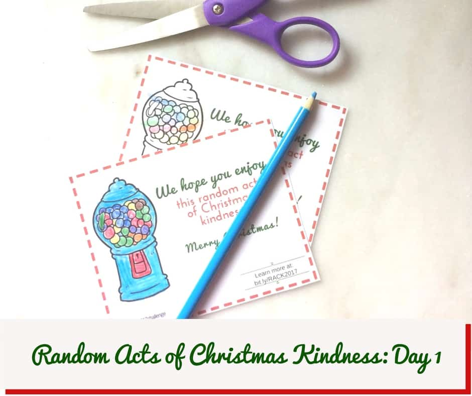 Random Acts of Christmas Kindness, Random Acts of Kindness