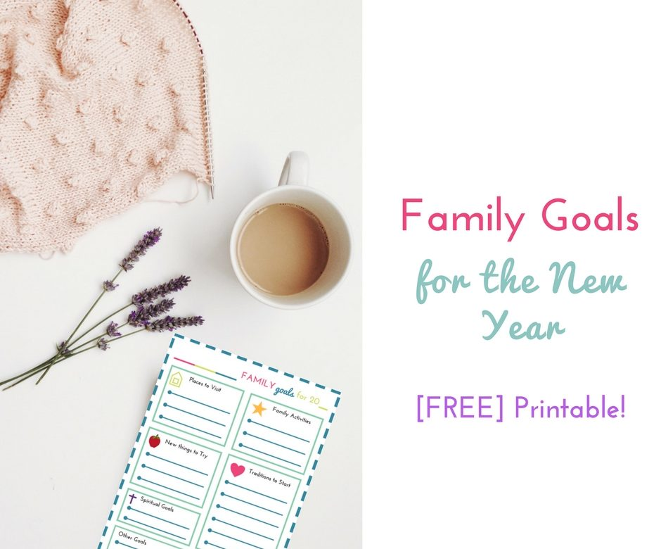New Year\'s Resolutions for Families (with free printable worksheet ...