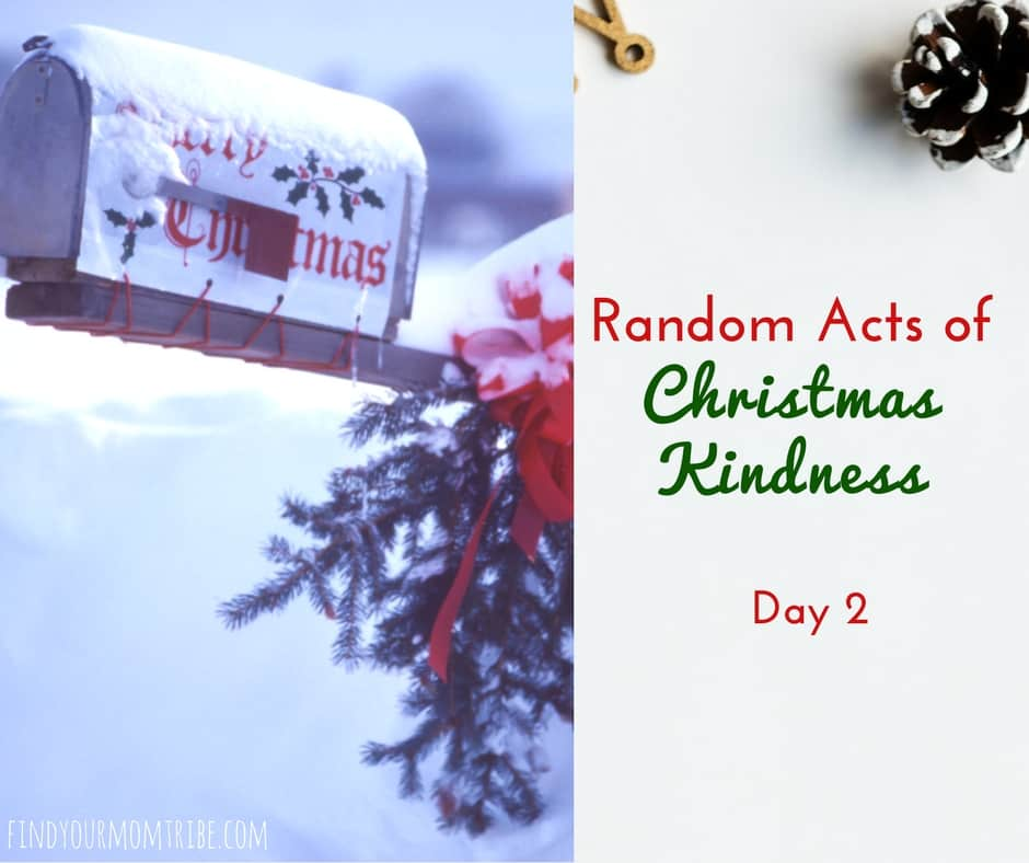 Random Acts of Christmas Kindness, Mail Carrier: Day 2