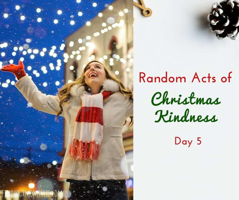 Random Acts of Christmas Kindness free printables