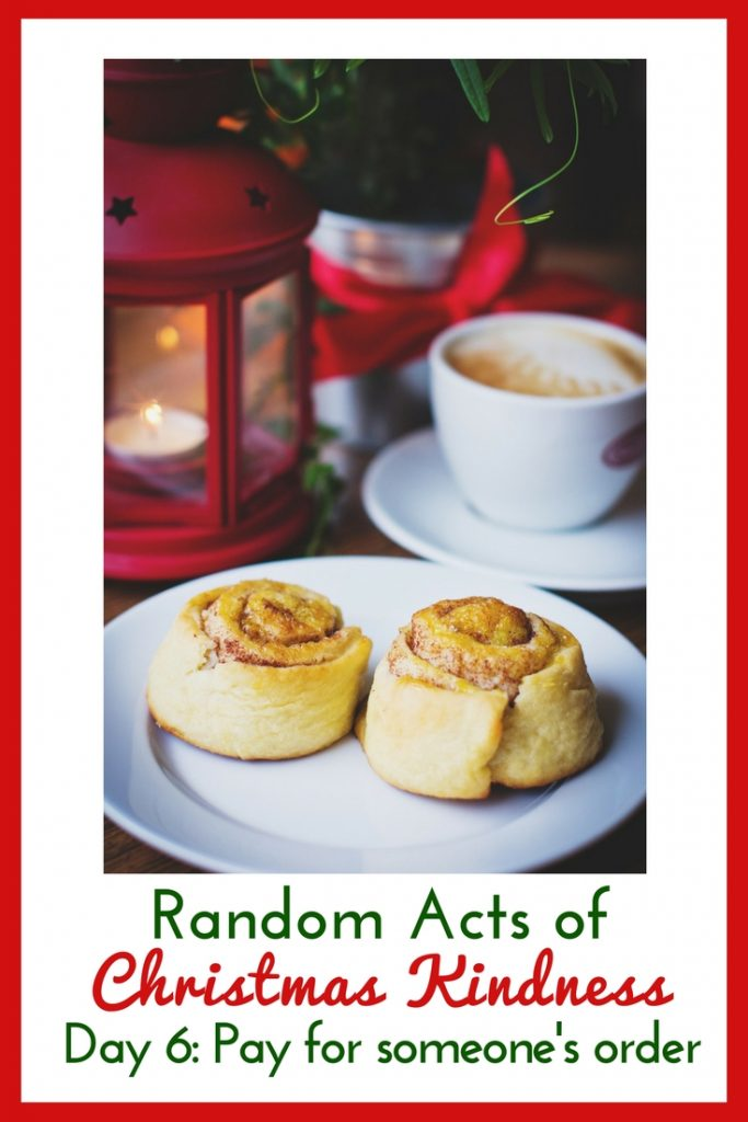 Pay for someone's order in the drive through and give them this free random act of kindness printable card!