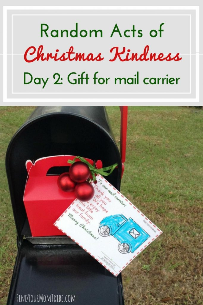 Christmas gift mail carrier