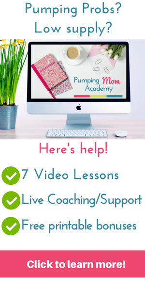 Pumping Mom Academy Ecourse