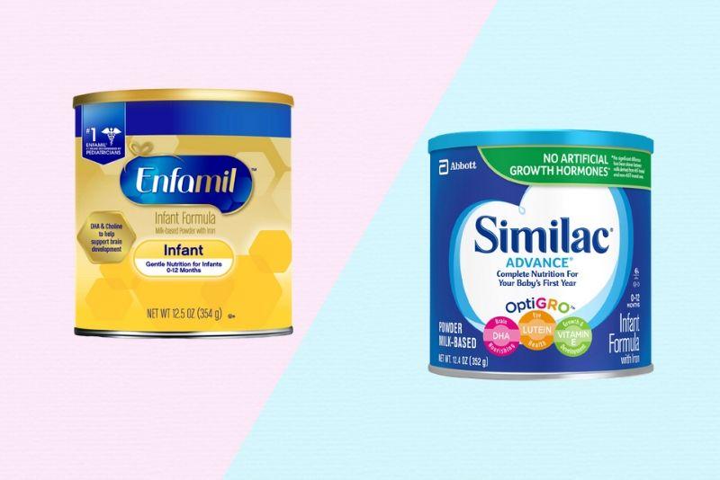 Enfamil-Vs-Similac baby formula