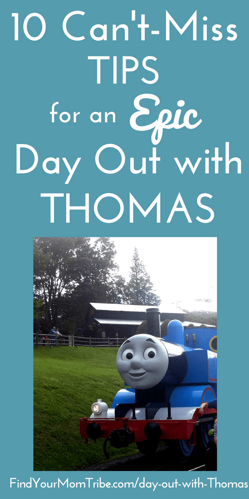 Planning a Day out with Thomas? These are the BEST tips for making the most out of the Thomas experience! PLUS, learn what to expect so that you'll be prepared!