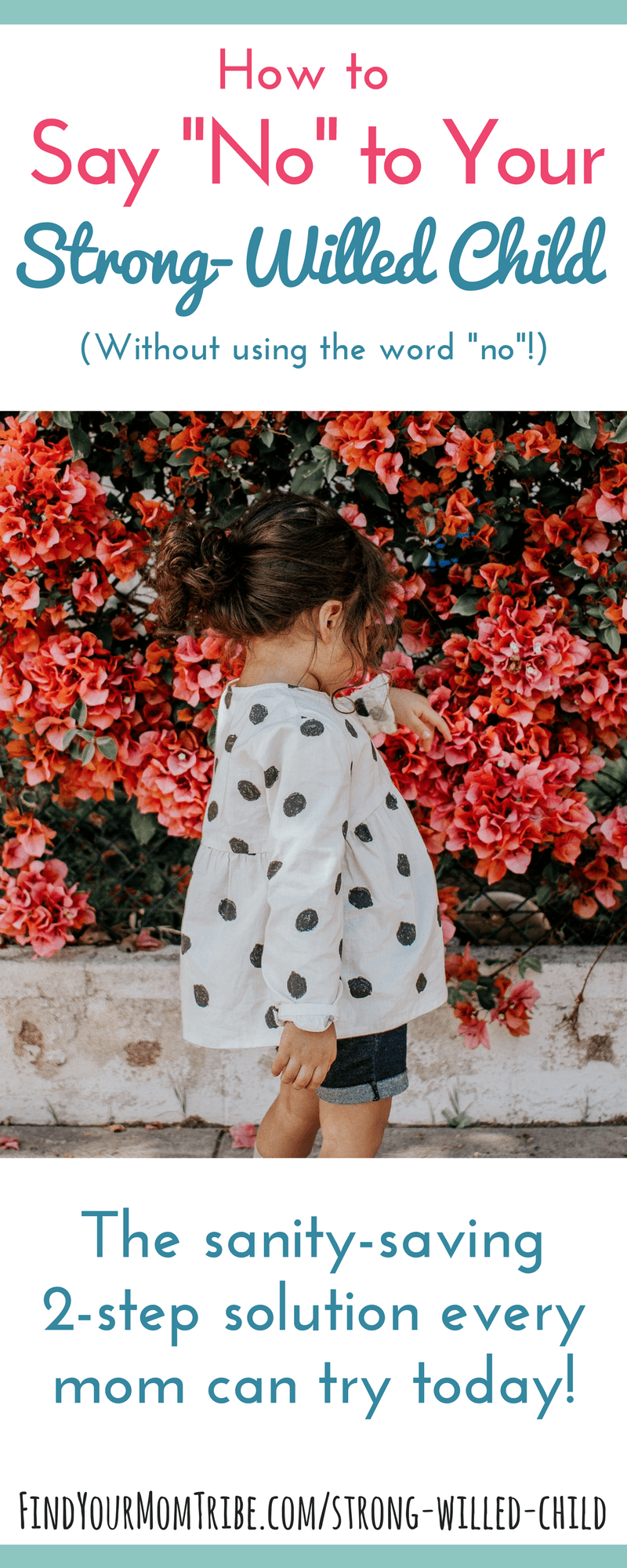 """Walking on eggshells to avoid triggering your strong-willed child? Does the word """"no"""" cause an epic meltdown? Here's an easy, 2-step solution for the spirited child! Read at: FindYourMomTribe.com/strong-willed-child"""