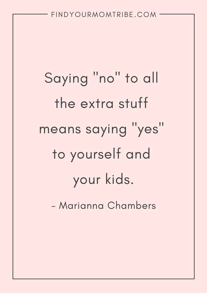How Learning to Say No Will Make You a Better Mom