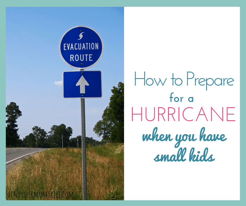 hurricane preparedness for moms