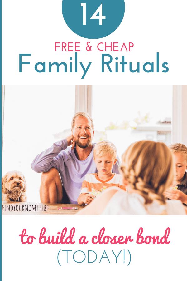 family rituals to start