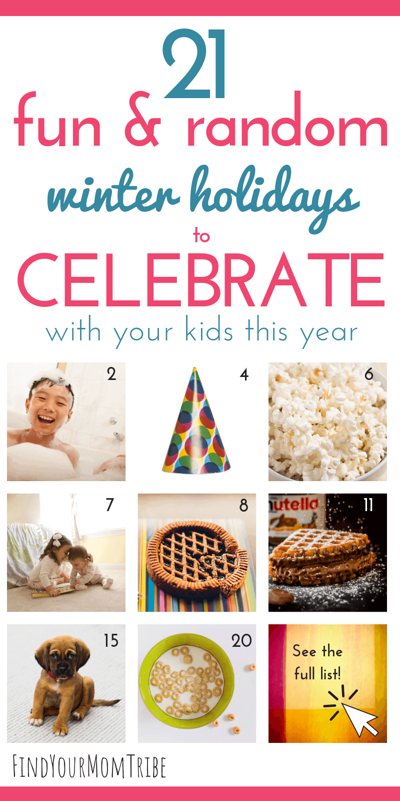 random holidays to celebrate with your kids