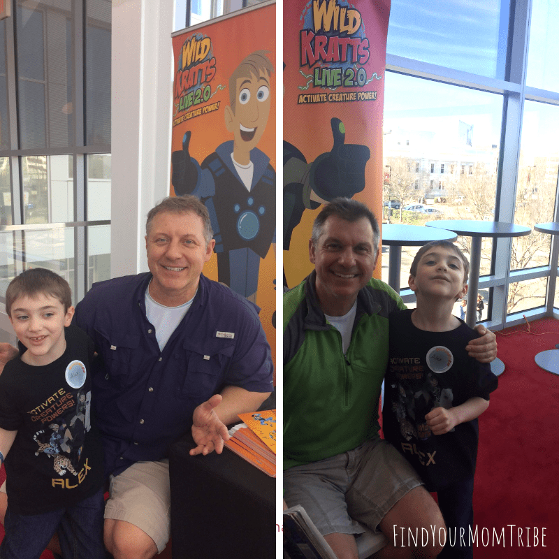 Chris and Martin Kratt Wild Kratts Live