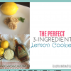 The Perfect 3-Ingredient Lemon Cookies (Quick, Easy, & Healthy!)
