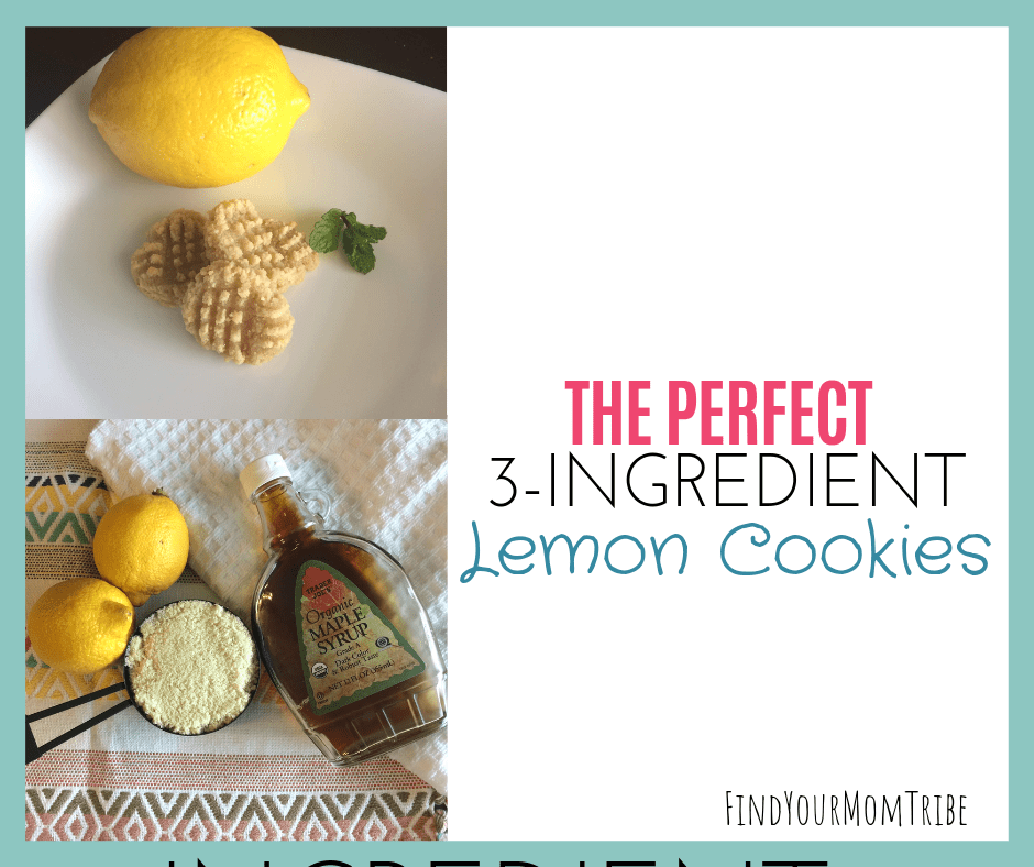 3 ingredient lemon cookies