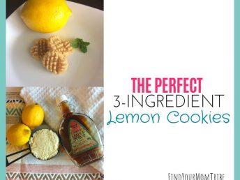 The Perfect 3-Ingredient Lemon Cookies