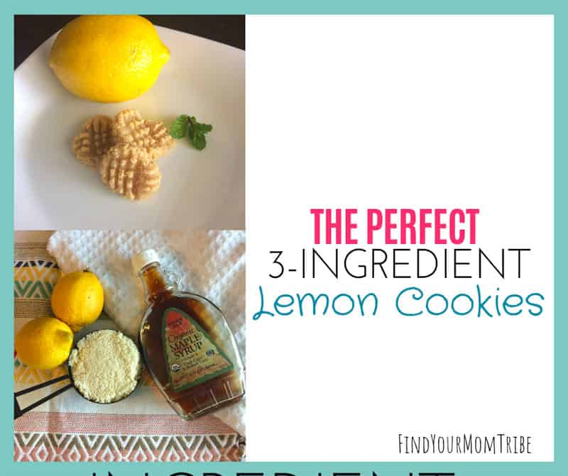 The Perfect 3-Ingredient Lemon Cookies