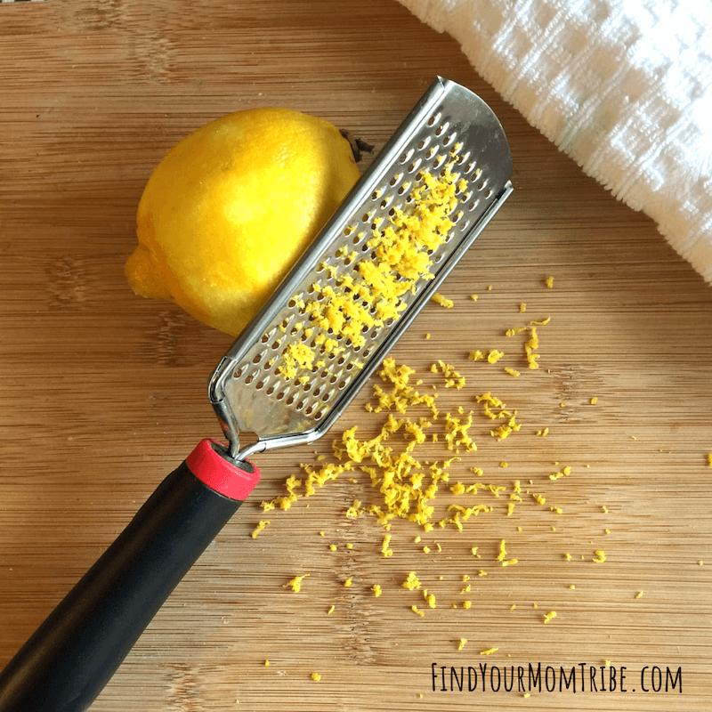 lemon cookies zest