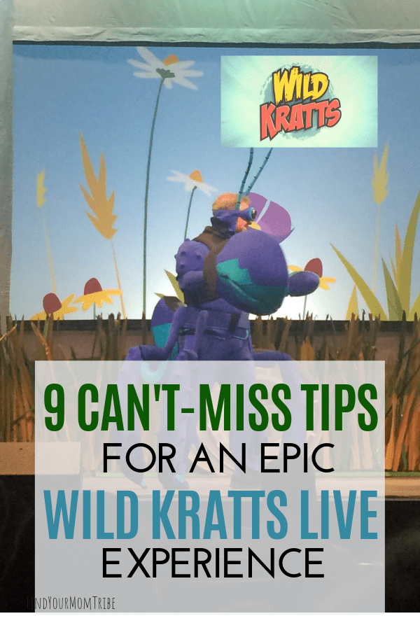Must-read tips for seeing the Wild Kratts in person! Wild Kratts Live 2.0!