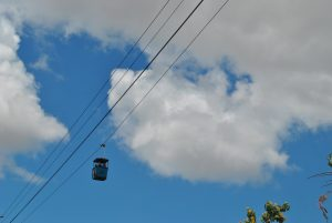 photo of the skyfari sky tram