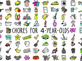 Chores For 4-Year-Olds
