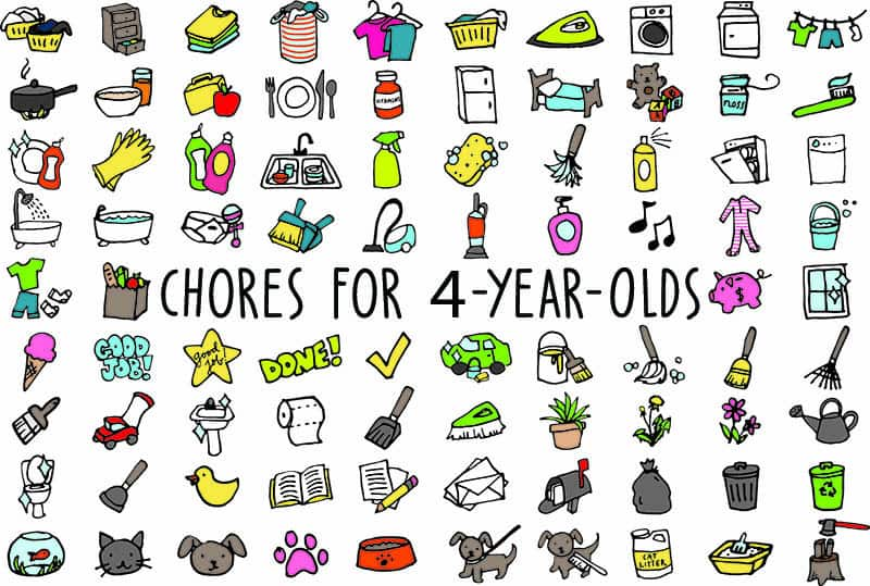 Chores For 4-Year-Olds: 11 Household Jobs That They'll Love