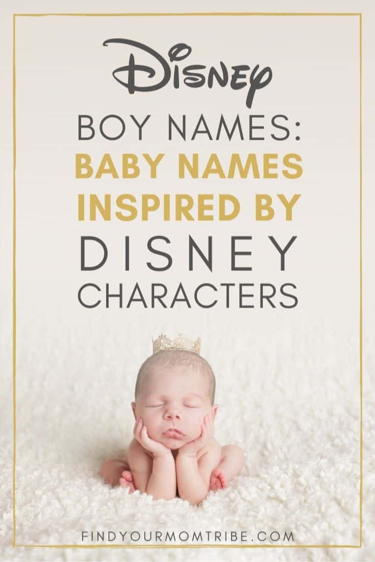 Disney Boy Names: Baby Names Inspired By Disney Characters