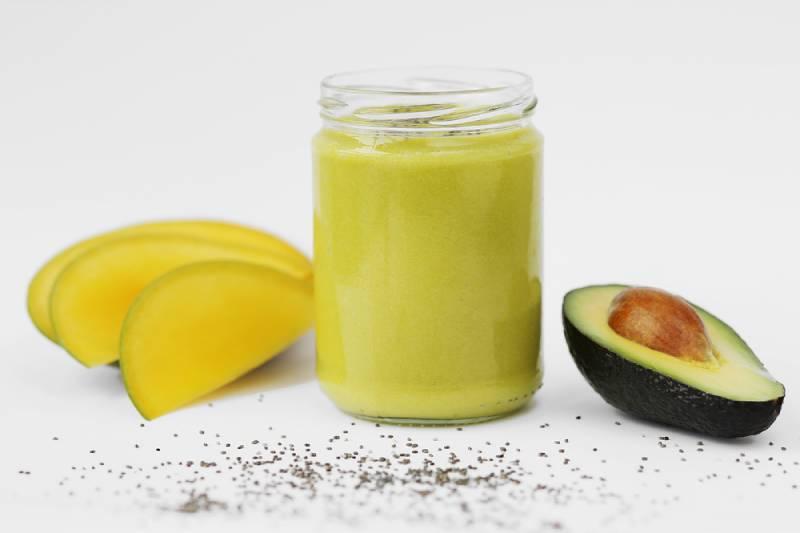 Avocado and Mango Pregnancy Smoothie