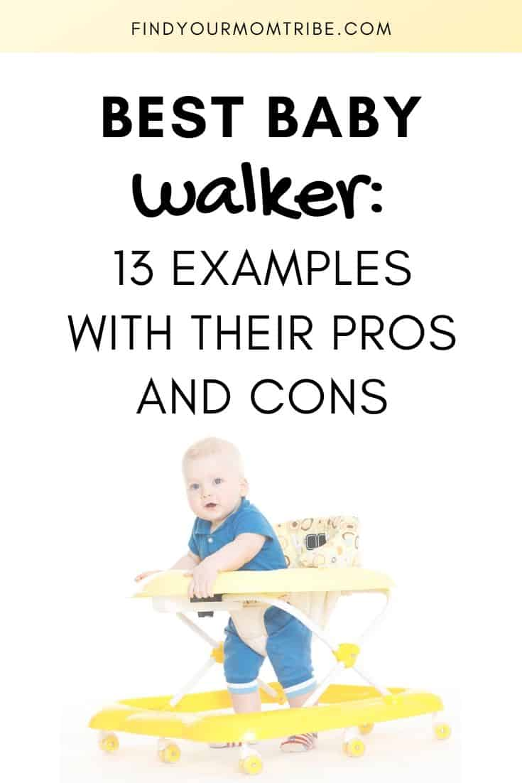 Best Baby Walker: 13 Examples With Their Pros And Cons