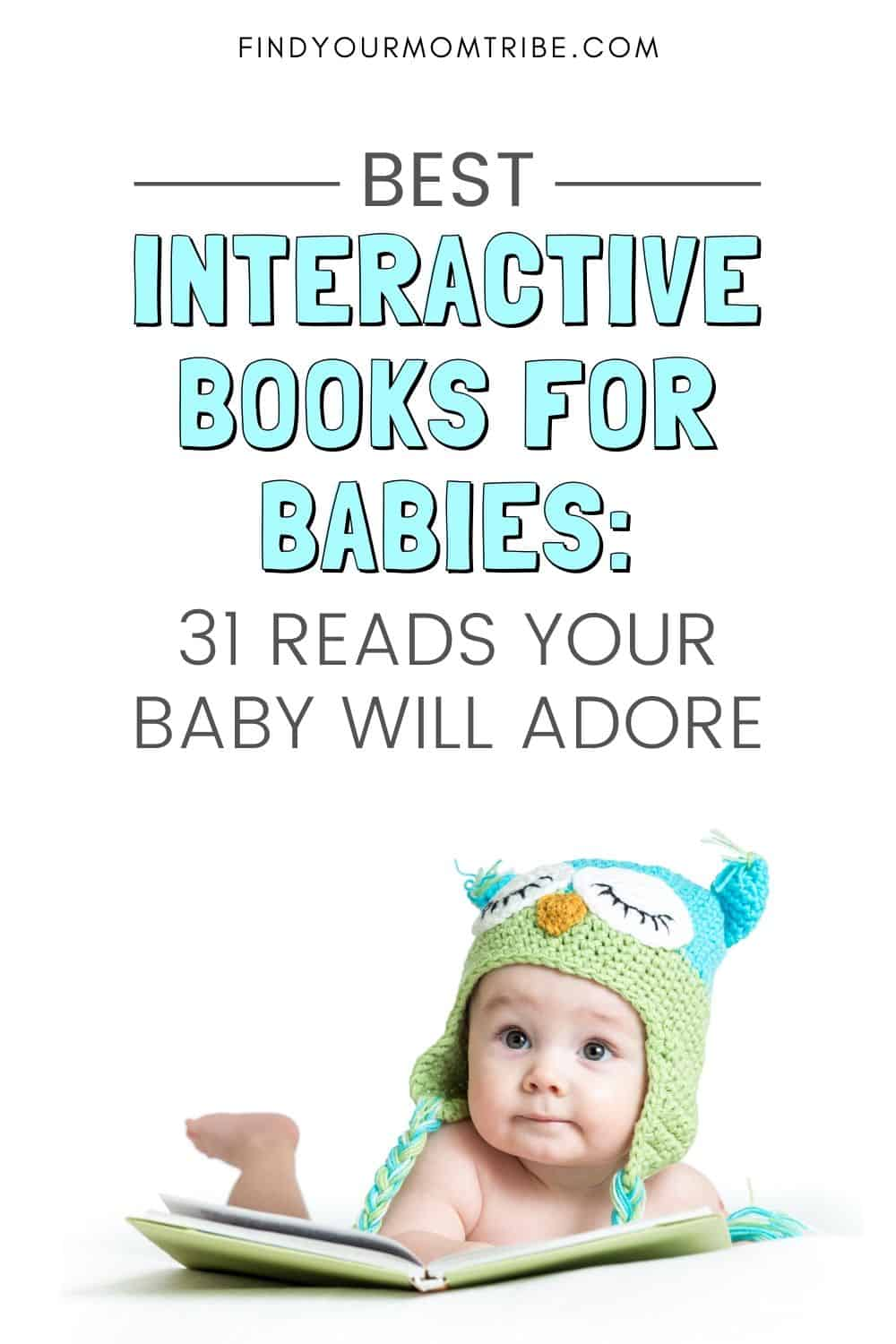 Best Interactive Books For Babies in 2020 Pinterest