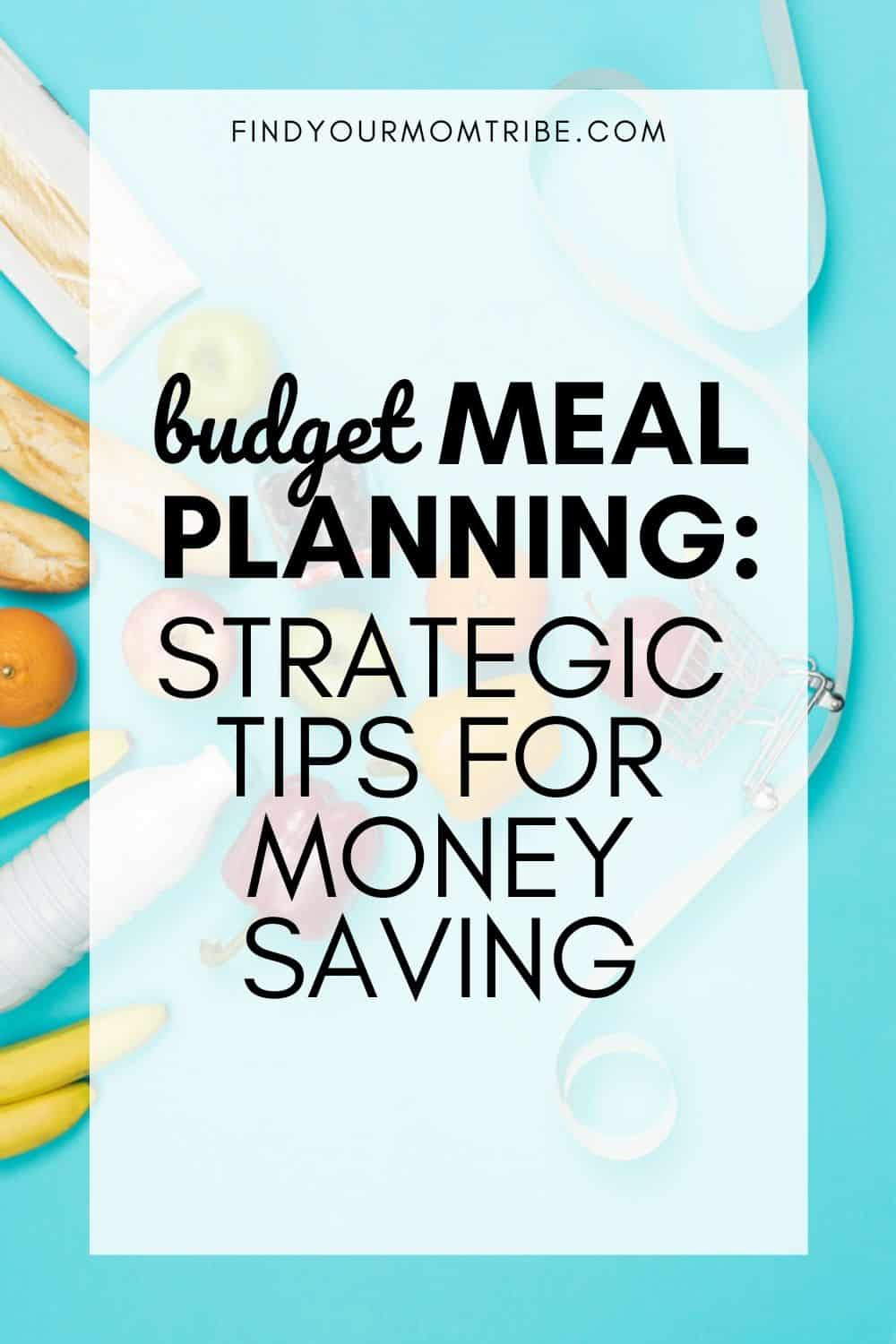 Budget Meal Planning