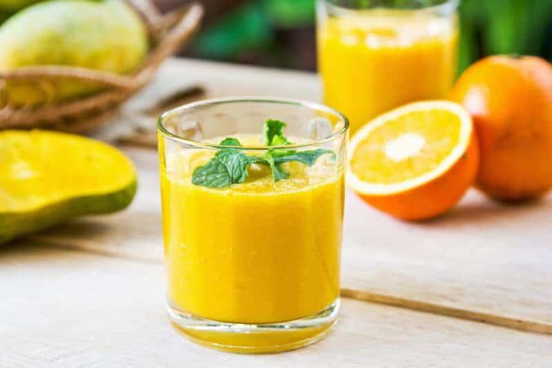 Orange and Mango Pregnancy Smoothie