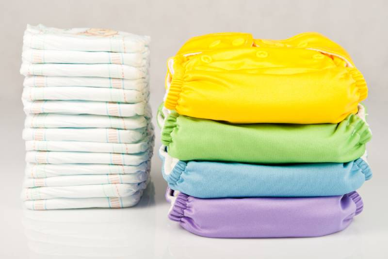 Eco friendly diapers and disposable diapers