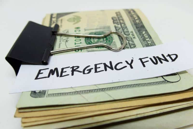 Emergency fund concept
