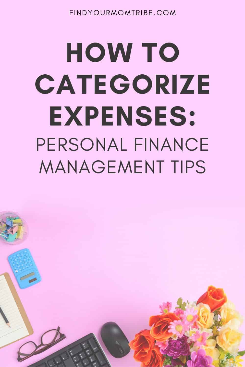 How To Categorize Expenses Pinterest